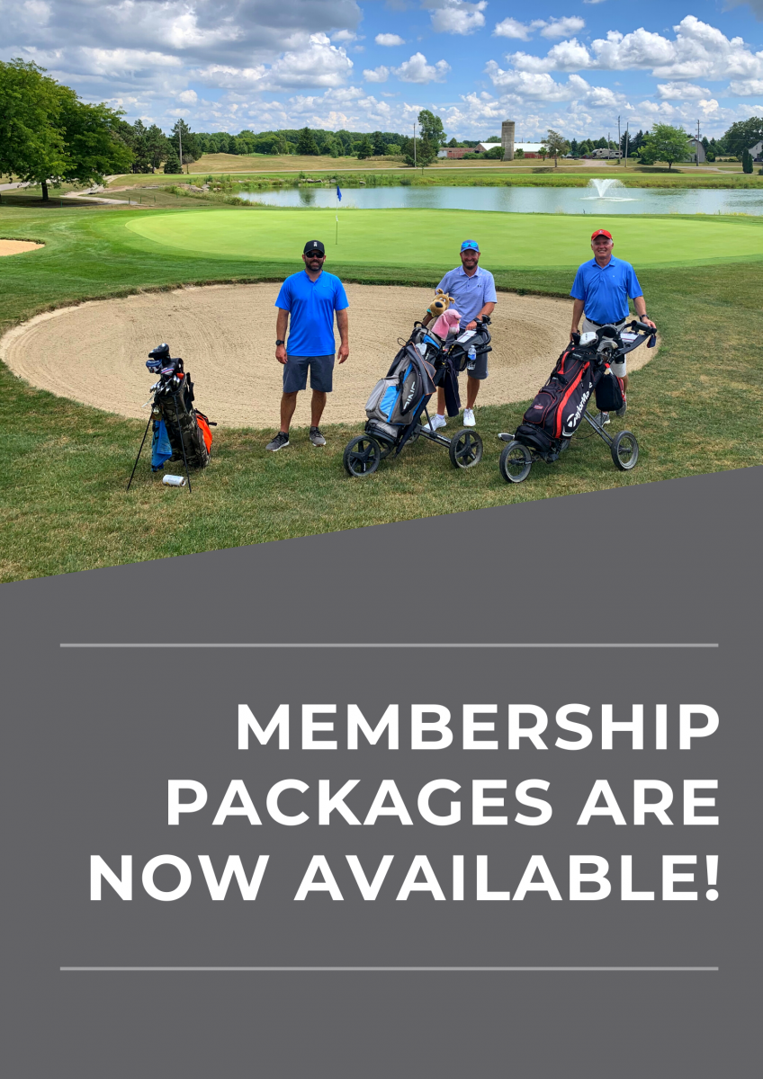 Membership packages are now available